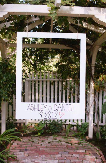 Photocall recuerdo boda