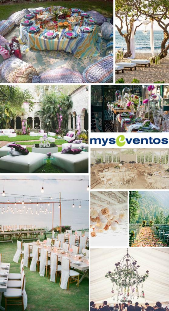Sitios de ensueño para una boda