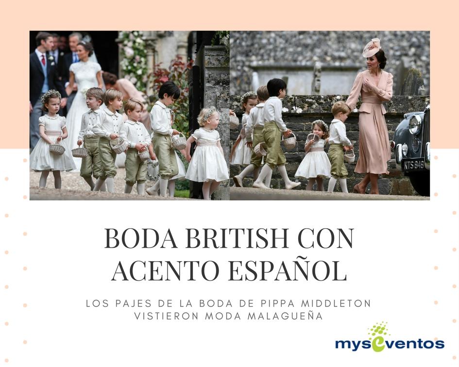 boda Pippa Middleton con acento español
