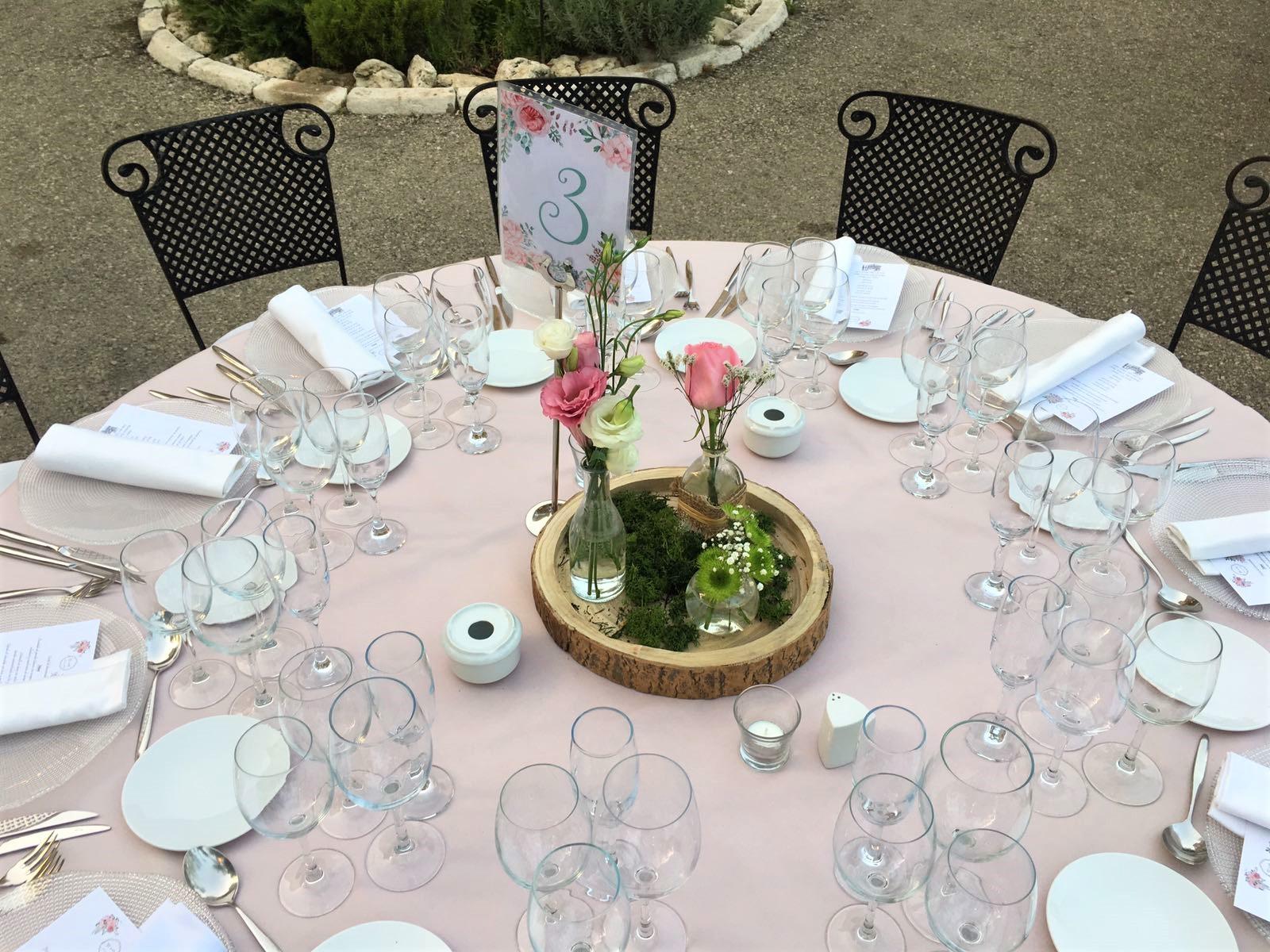 Ideas de centros de mesas para bodas