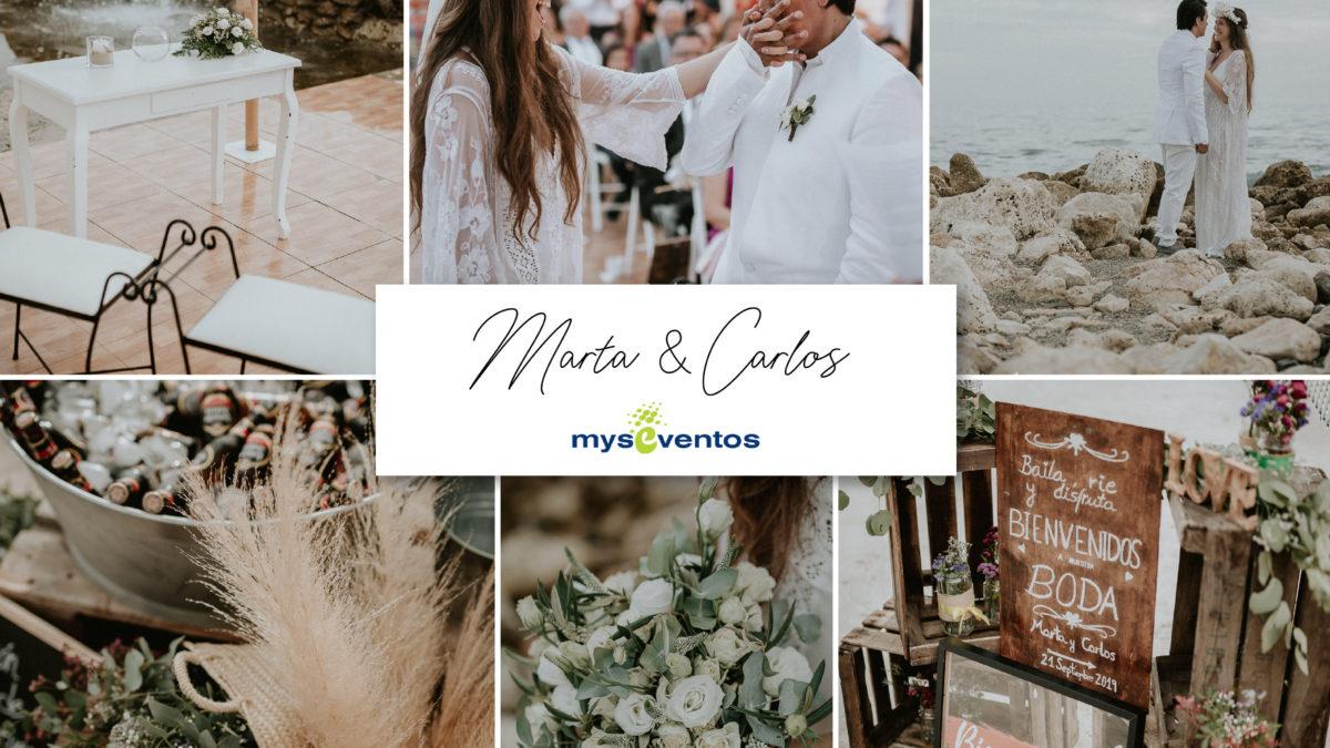 Boda Marta y Carlos