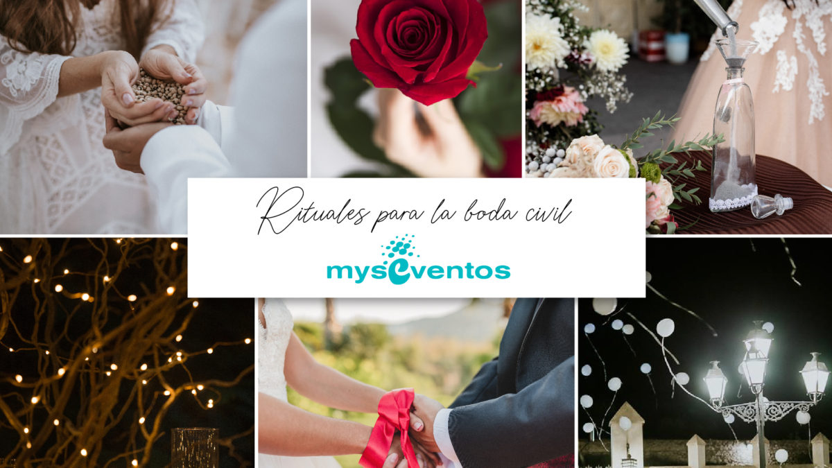 7 rituales para la boda civil