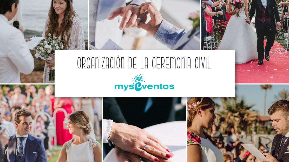 Organización de la ceremonia civil: momentos claves