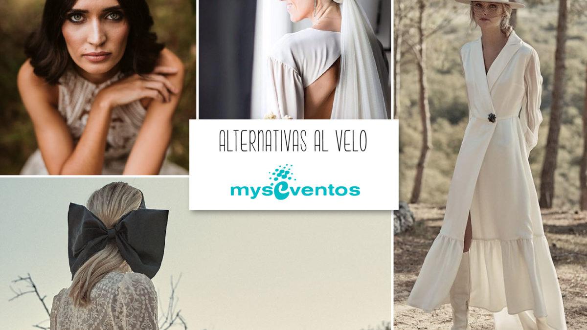 Alternativas al velo de novia
