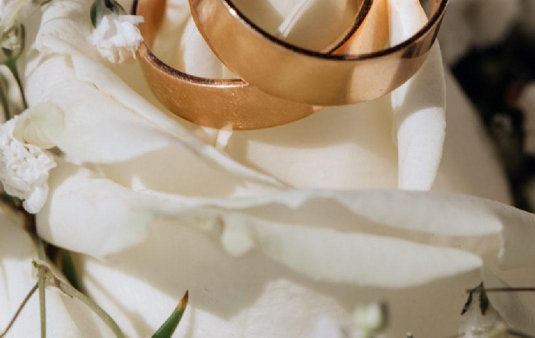 Aniversarios de boda según el número de años casados