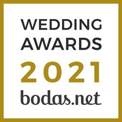 Mys eventos, ganador Wedding Awards 2021 Bodas.net