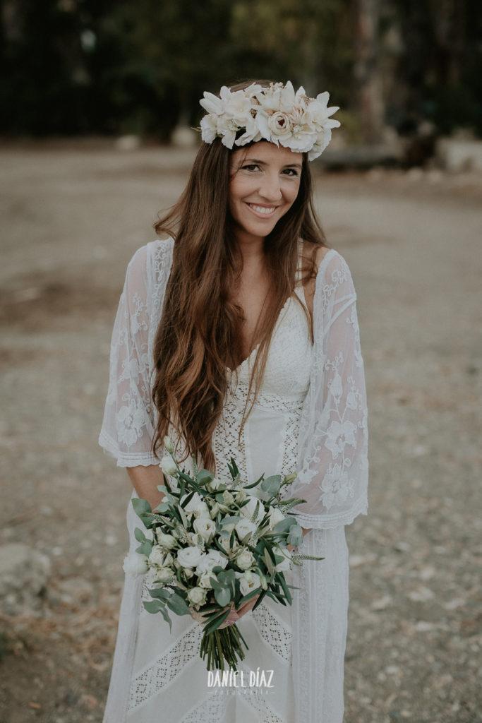 Ideas de peinados de novia - Melena suelta