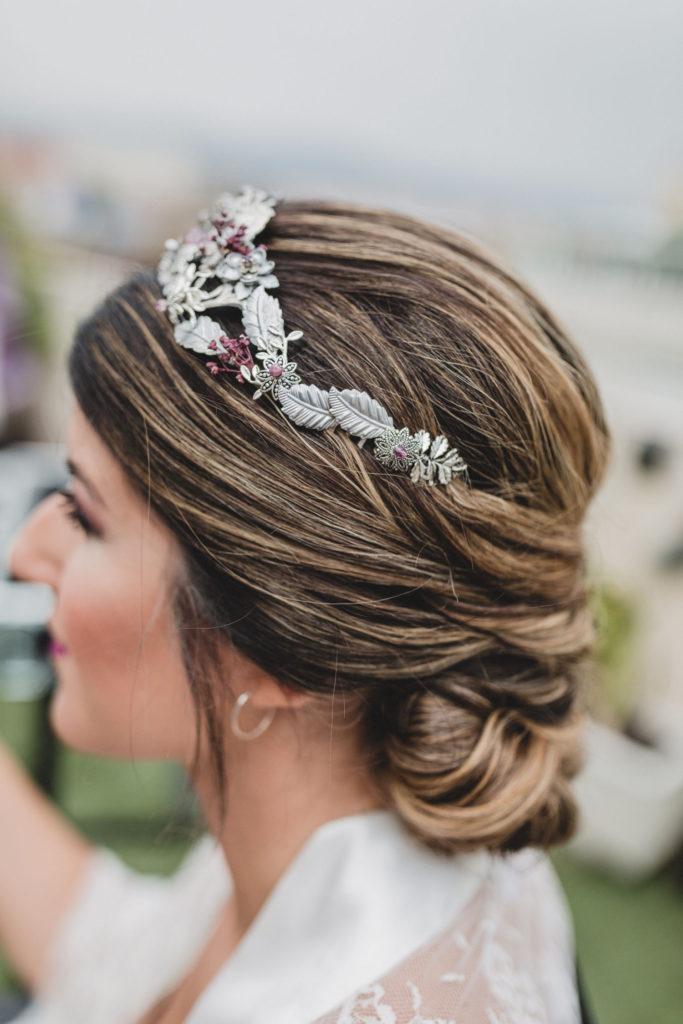 Ideas de peinados de novia - Recogido bajo