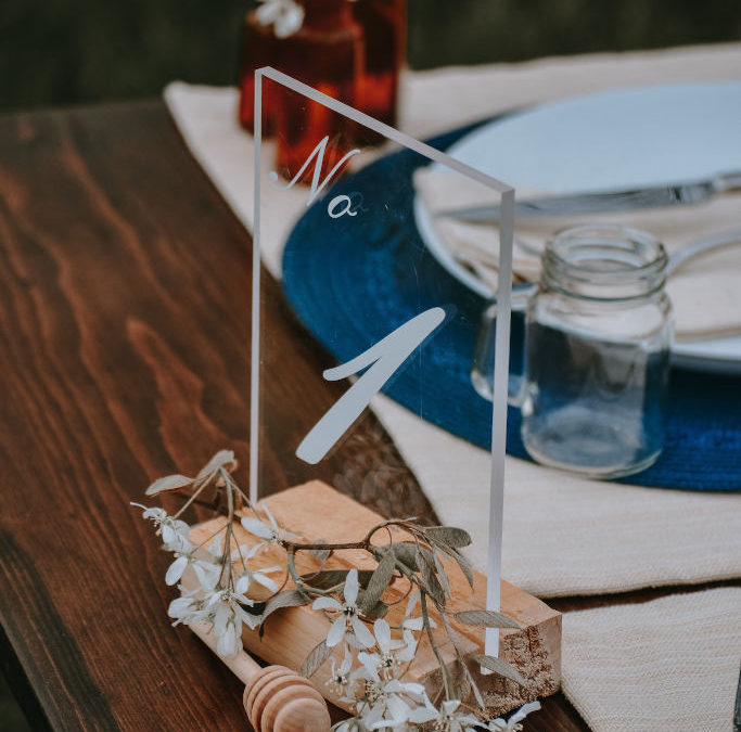 Decoración de bodas con cristal: 3 ideas que te enamorarán