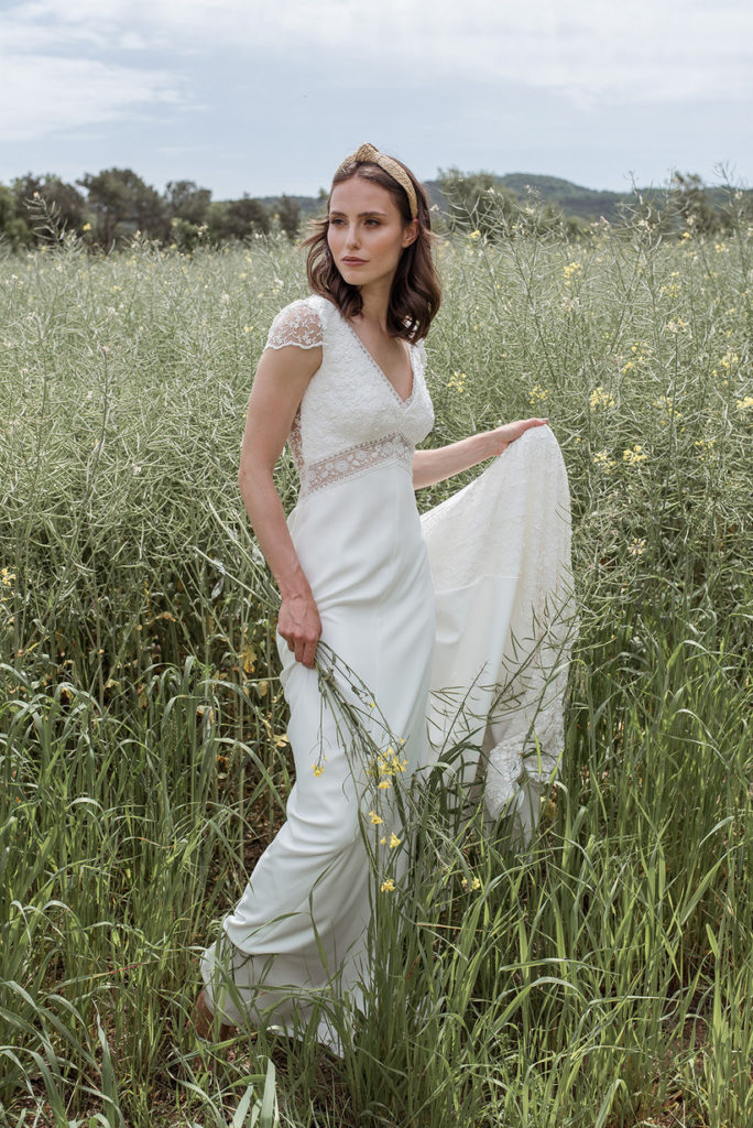 4 tipos de vestidos de novia