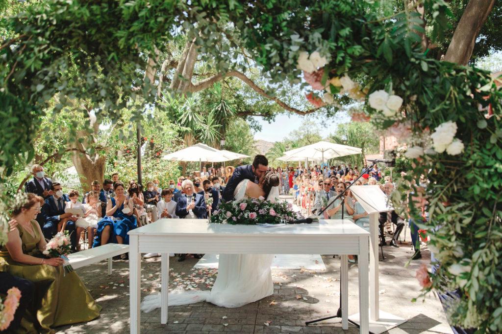 Boda en Hacienda Nadales Málaga por todo lo alto: Nieves y Gabi